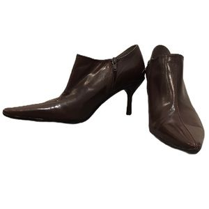 Kenneth Cole Reaction Pointed Toe Ankle Booties